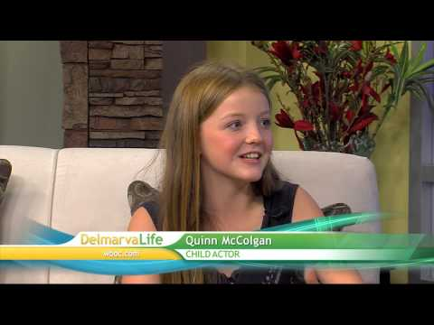 Local Child Actor, Quinn McColgan Joins Us  Thursday, July 23, 2015