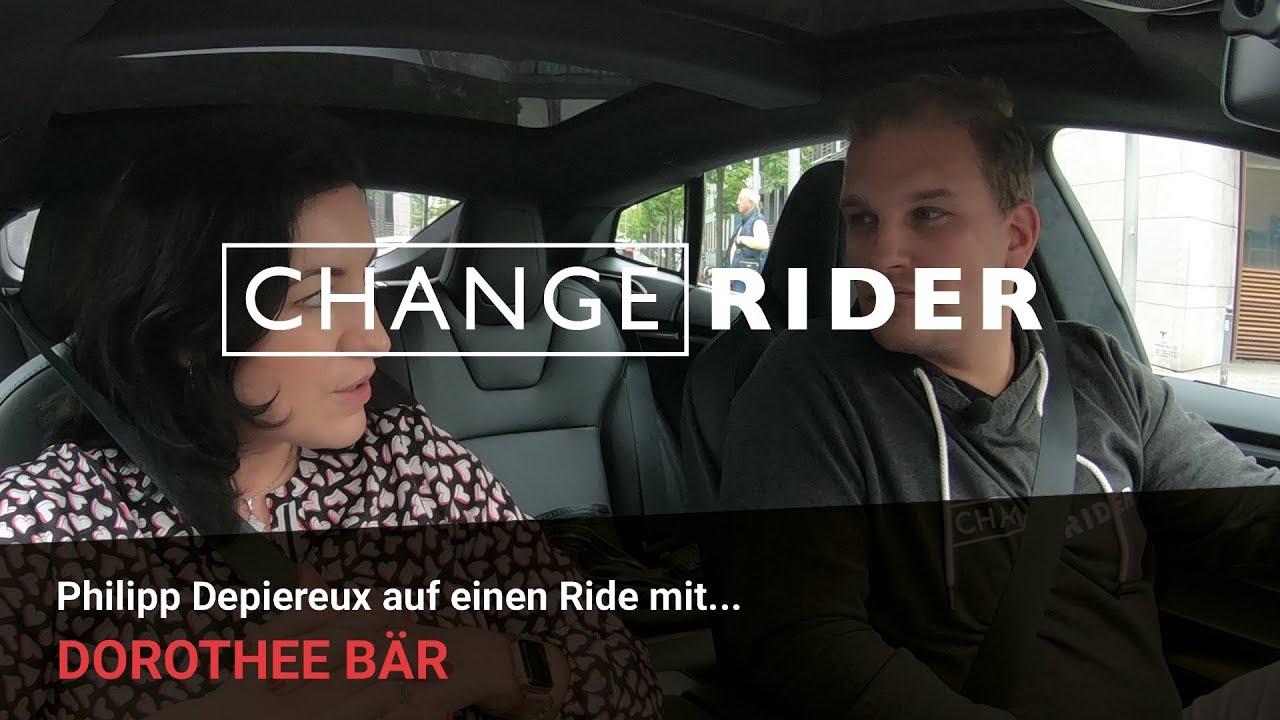 ChangeRider #1 Dorothee Bär