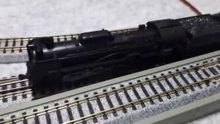 KATO D51 SL列車セット Nゲージスターターセット・スペシャル D51走行動画
