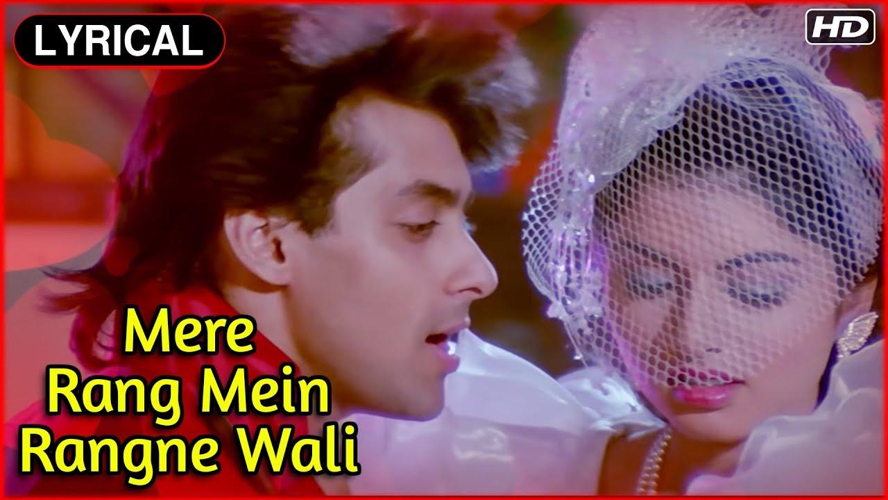 song mere rang me rangne wali pari ho