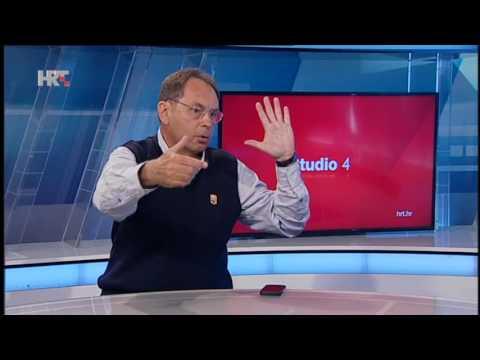 Davor Pavuna u emisiji Studio 4 HRT-a