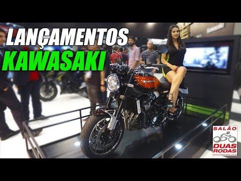 LANÇAMENTOS KAWASAKI Z900RS E NINJA 400 SALÃO DUAS RODAS 2017 - MOTO.com.br