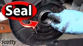 Replacing A Leaking Axle Seal