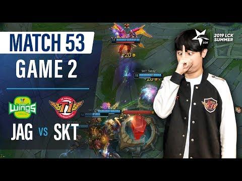 상황보는중   진에어 vs SKT H/L 07.19   2019 LCK 서머