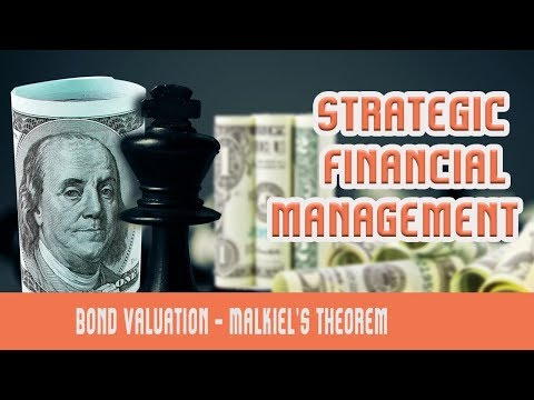 Bond Valuation | Malkiel's Bond Theorem | Floating Rate Bonds | Risk In Bond Investment | Part 7