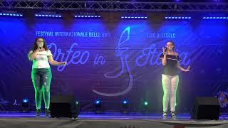 Gambar cover 2018 Orfeusz w Italii MARUSKA Rafaele i BICZYSKO Klaudia Mamma Mia