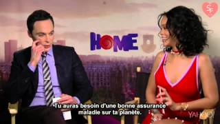 Rihanna and Jim Parsons BEST moments (HOME) (HD) thumbnail