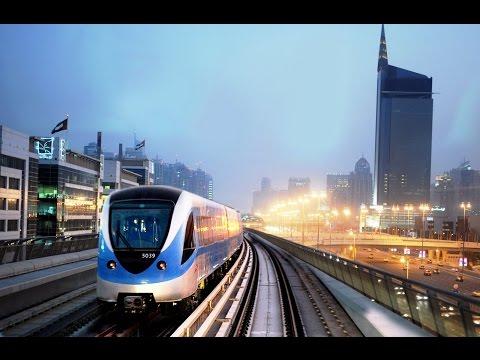 Dubai Metro Ride 2016 - Al Jafiliya - Ibn Battuta Red Line