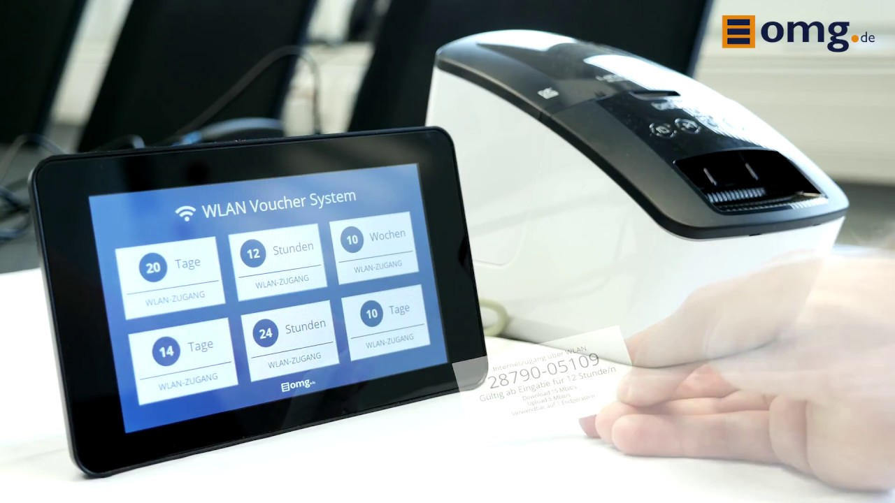 OMG Voucher Printer für UniFi