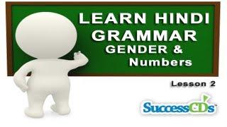 Learn Hindi Grammar -   Ling aur Vachan ( लिंग और वचन) lesson 2