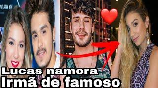 Lucas Viana e irmã do sertanejo Luan Santana estão vivendo romance