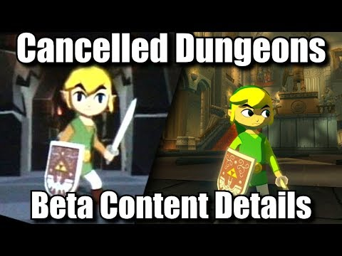 Cut Content, Cancelled Dungeons & Adult Toon Link   Zelda Wind Waker