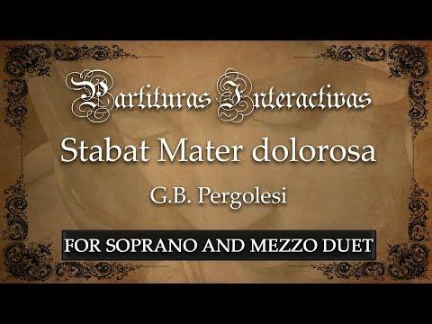 Stabat Mater dolorosa - G. B. Pergolesi (Karaoke - Original Key: F minor)