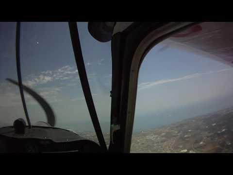 Flight Bellanca Super Decathlon 8KCAB With Headcam