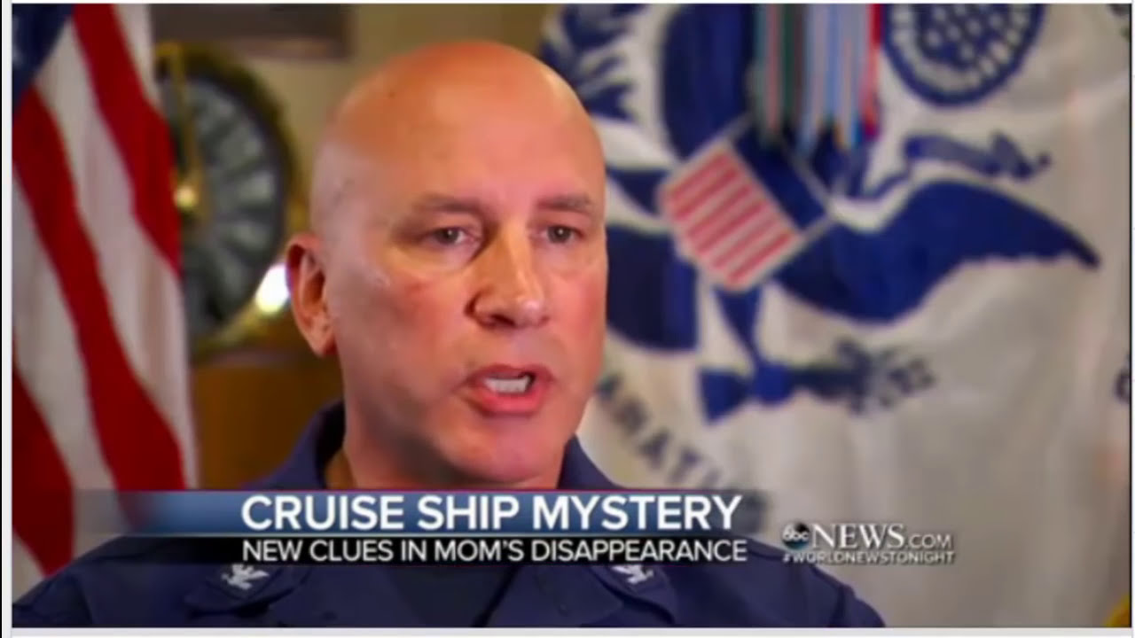 Missing Carnival Cruise Ship Passenger Fell Backward Off Rail - Lady overboard on cruise ship