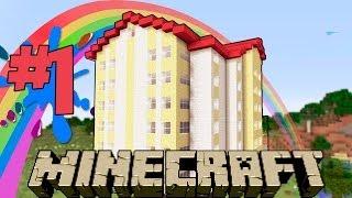 видео: Как построить ЖИЛОЙ дом в Minecraft??? #1