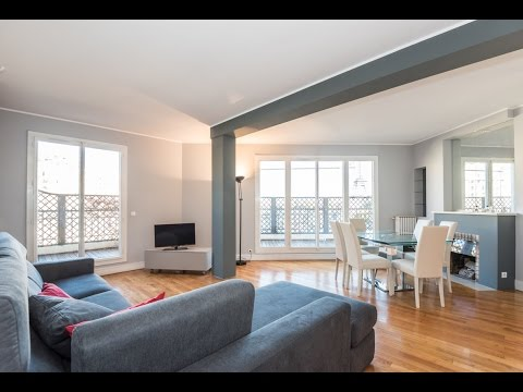 (Ref: 16109) 3-Bedroom furnished apartment for rent on rue d'Ankara (Paris 16th)