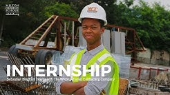 Sebastian Bingham Internship with Whiting-Turner Contracting Company
