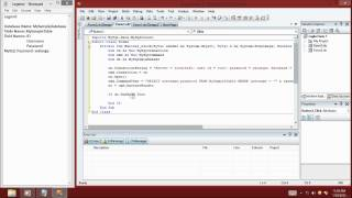 Creating Login Form using VB.NET 2008 and MySQL Database