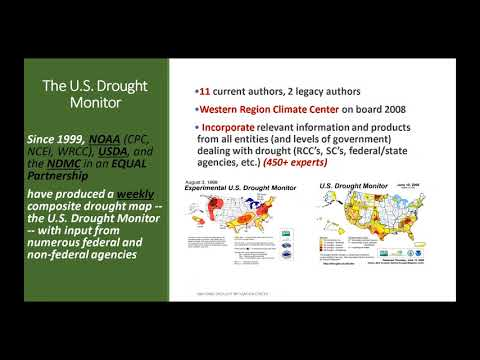 NWS Climate Services Seminar, 12/12/2017, The Making of the US Drought Monitor