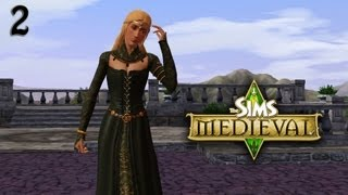 Lets Play The Sims Medieval (Part 2) First Steps!