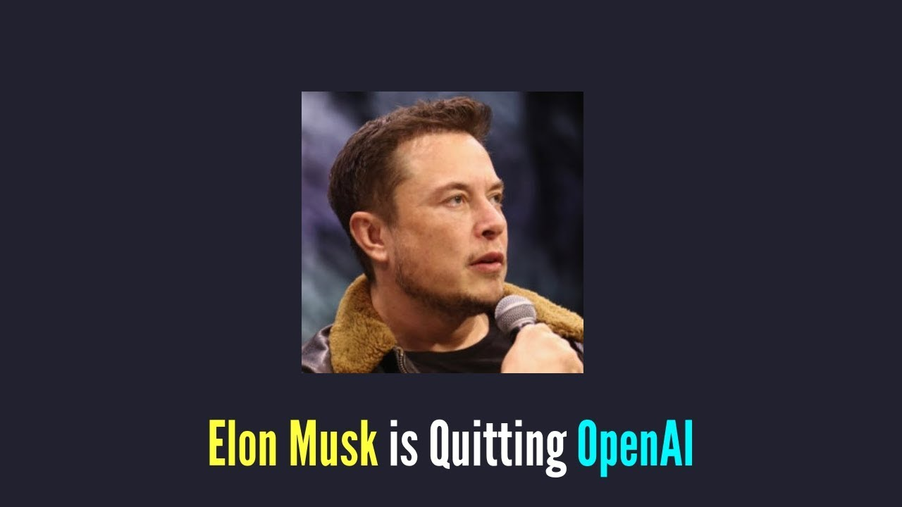 Elon Musk Quits OpenAI whose AI System can generate Fake News