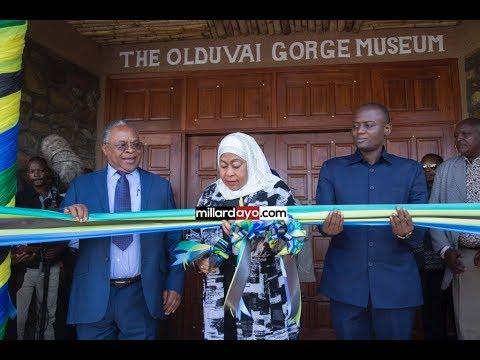 UZINDUZI: Ni yale Makumbusho ya Olduvai Gorge yaliyogharimu BILIONI 1.7