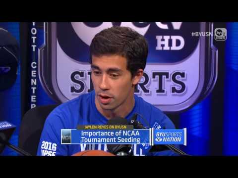 Volleyball Assistant Coach Jaylen Reyes on BYU Sports Nation