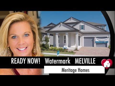 New Home Winter Garden Florida  Five Bedroom Ready Now in Desirable Watermark!