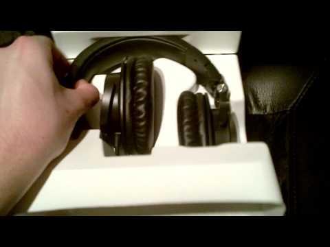 Audio-Technica ATH-M50s Headphone Unboxing