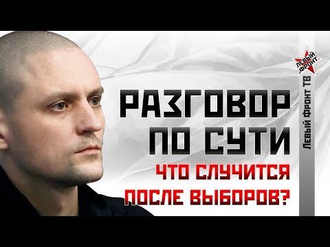 Сергей Удальцов: Что
