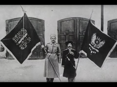 1916, Русские войска взяли Турецкую город-крепость Эрзурум. 3-я Османская армия разбита, кинохроника