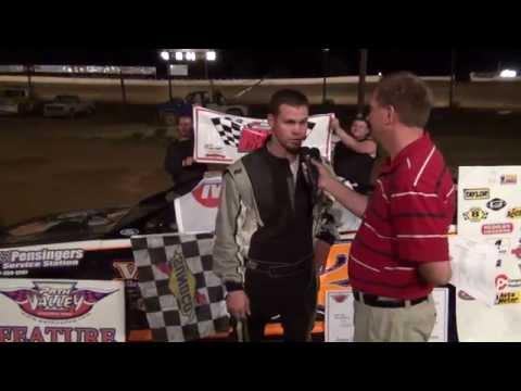 Frankie Gordon claims PA Mini Stock Series win at Path Valley
