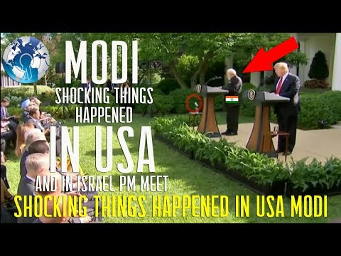 SHOCKING Things Happened to MODI in USA and Israel with TRUMP and Netanyahu