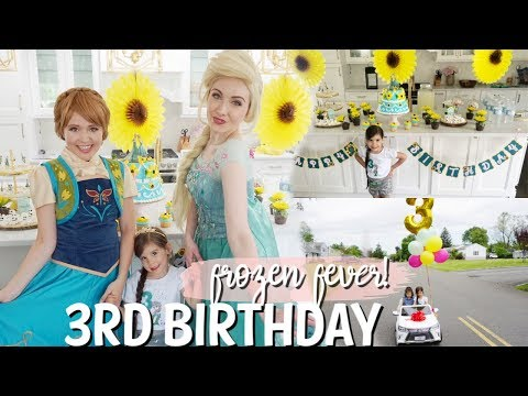 my-super-sweet-3rd-birthday-party-|-frozen-fever-theme!-|-diy-decor-ideas