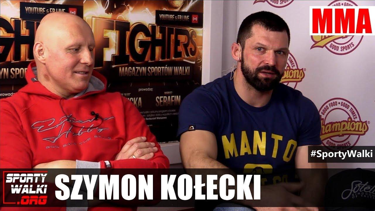 Szymon Kołecki o stresie przed walką