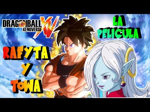 Dragon Ball Xenoverse : Rafyta Y Towa La Pelicula - TODOS LOS EPISODIOS EPICO (Recopilatorio)