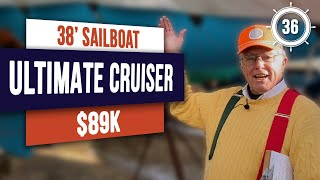 $89k - GO CRUISING! Catalina 380 Sailboat for Sale | EP36 #boattour #boatreview