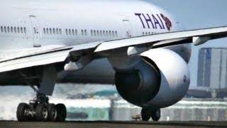 Thai / Boeing 777-300/ER First Takeoff at Copenhagen Kastrup (HD1080p)