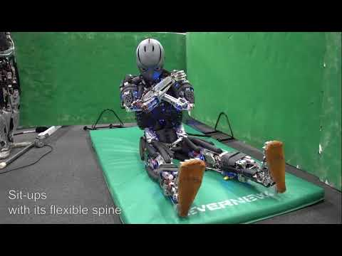 The humanoid robot that can exercise and even perspire when it gets hot