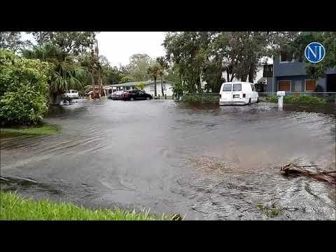 Ormond Beach flooding from Hurricane Irma