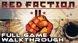 PS2 Longplay [020] Red Faction 2 - Full Game Walkthrough