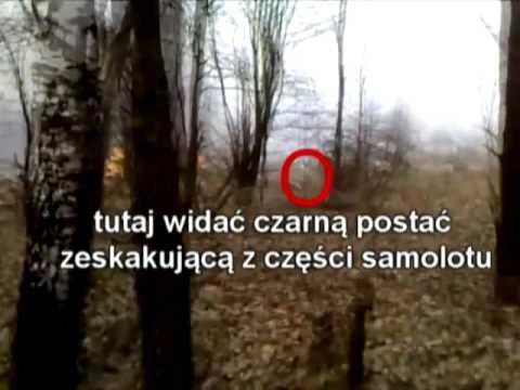 Unglaublich - Video vom Flugzeugabsturz  bei Smolensk unter die Lupe genommen!