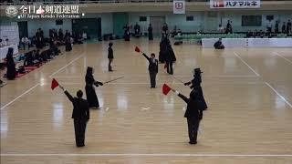 GUNMA vs AOMORI 10th All Japan Interprefecture Ladies KENDO Championship 2018 2nd Round