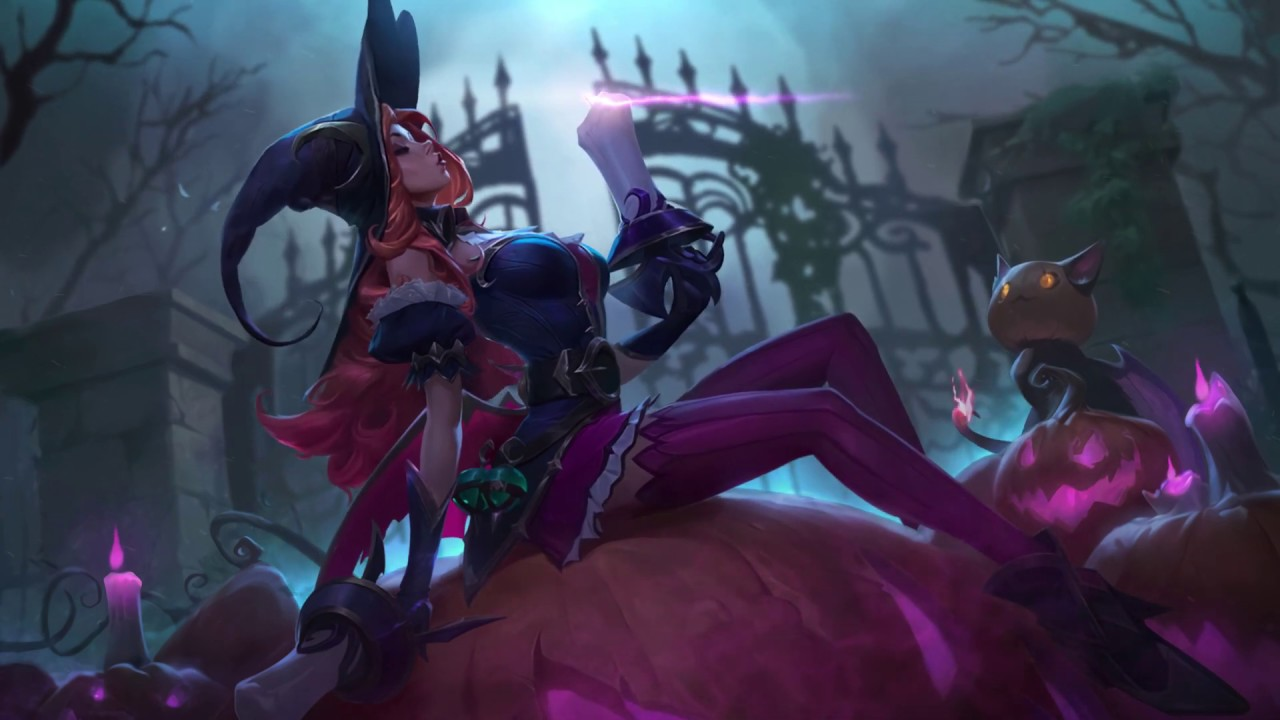 Bewitching Miss Fortune Login Screen Animation Fanart League Of