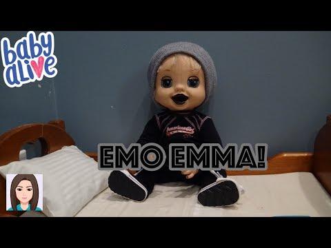 Emo Emma! Emma Turns Emo?