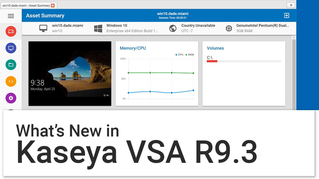 Kaseya Network Monitor