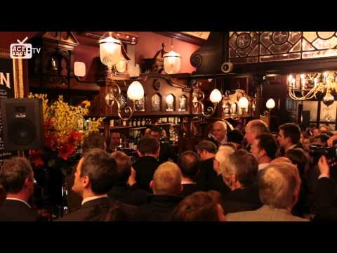 George Osborne (Chancellor of the Exchequer) - Fullers Reopening - The Red Lion Westminster