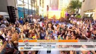 Cher LLoyd - Want U Back - Today Show