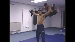 Karate-Kickboxing training by Buster Reeves